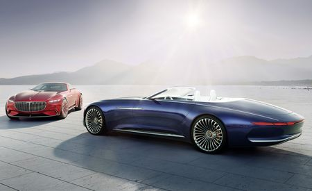 Vision Mercedes-Maybach 6 Cabriolet: Open for Gawking – Official Photos and Info