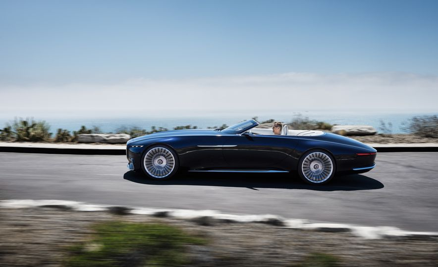Vision Mercedes-Maybach 6 concept and Vision Mercedes-Maybach 6 cabriolet concept - Slide 2