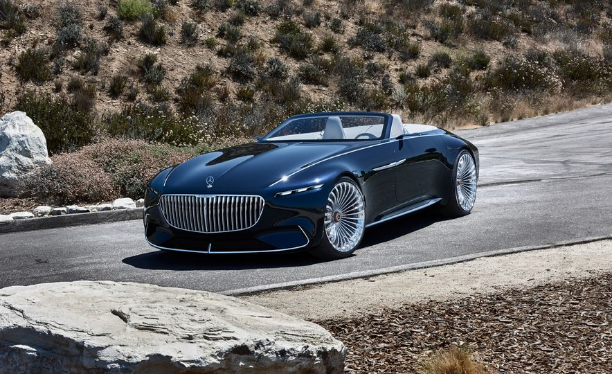 Vision Mercedes-Maybach 6 concept and Vision Mercedes-Maybach 6 cabriolet concept - Slide 3