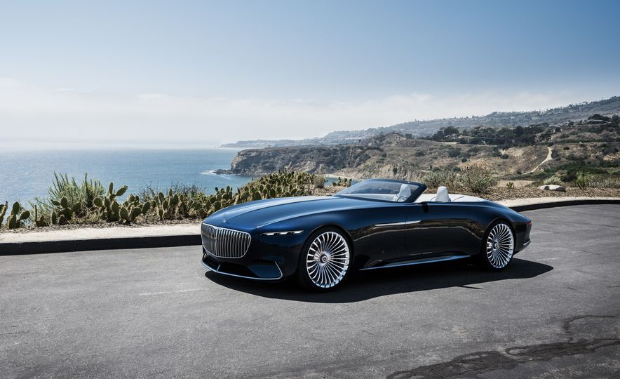 Vision Mercedes-Maybach 6 concept and Vision Mercedes-Maybach 6 cabriolet concept - Slide 4