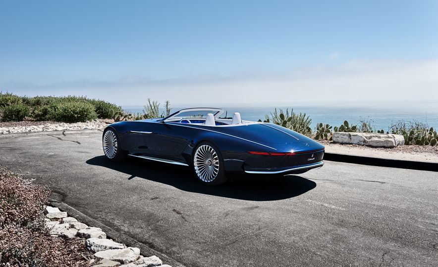 Vision Mercedes-Maybach 6 concept and Vision Mercedes-Maybach 6 cabriolet concept - Slide 5