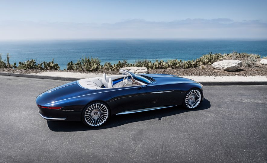 Vision Mercedes-Maybach 6 concept and Vision Mercedes-Maybach 6 cabriolet concept - Slide 6