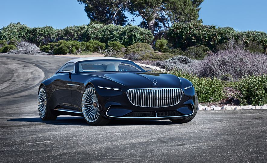 Vision Mercedes-Maybach 6 concept and Vision Mercedes-Maybach 6 cabriolet concept - Slide 7