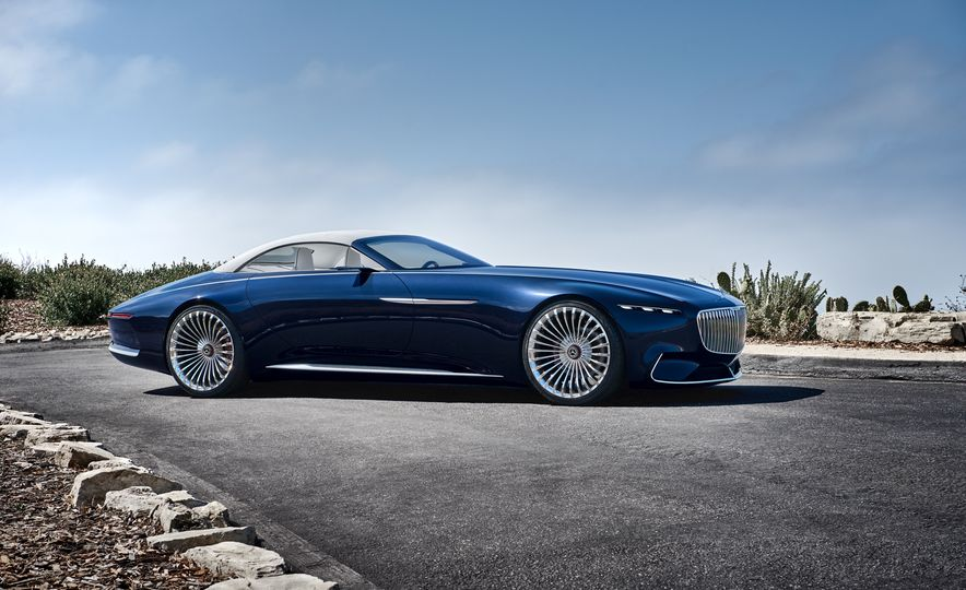 Vision Mercedes-Maybach 6 concept and Vision Mercedes-Maybach 6 cabriolet concept - Slide 8