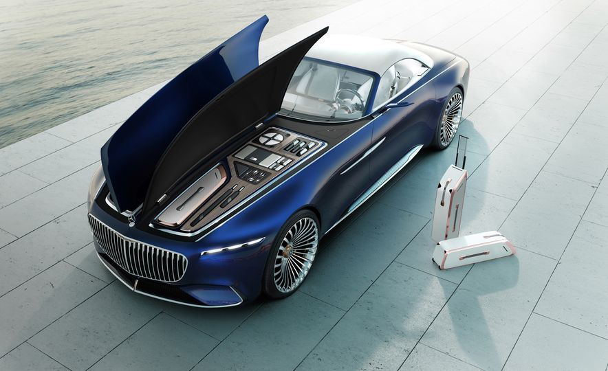 Vision Mercedes-Maybach 6 concept and Vision Mercedes-Maybach 6 cabriolet concept - Slide 9