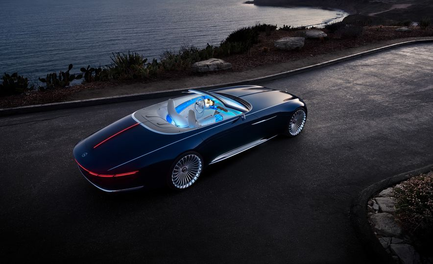 Vision Mercedes-Maybach 6 concept and Vision Mercedes-Maybach 6 cabriolet concept - Slide 10