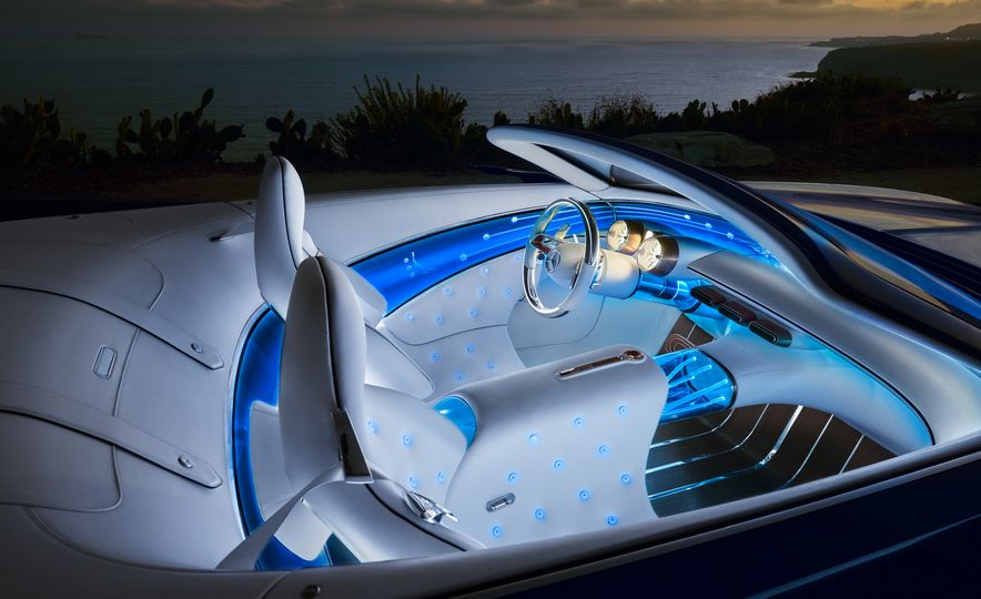 Vision Mercedes-Maybach 6 concept and Vision Mercedes-Maybach 6 cabriolet concept - Slide 11