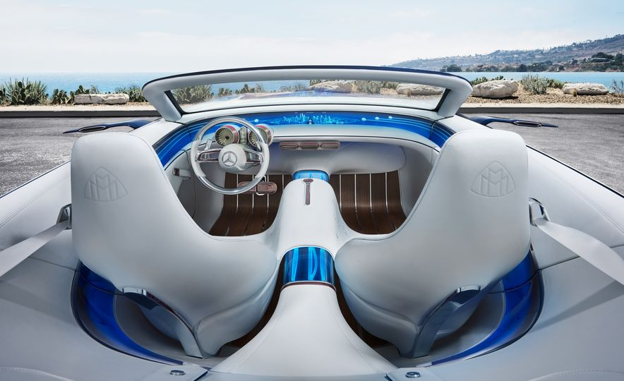 Vision Mercedes-Maybach 6 concept and Vision Mercedes-Maybach 6 cabriolet concept - Slide 12