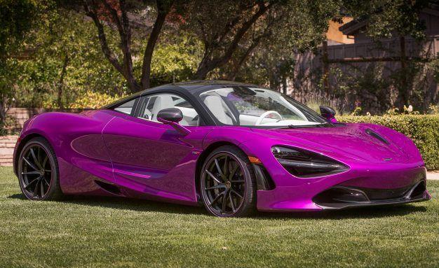Purple Swag: McLaren MSO Crafts Stunning Fuchsia 720S