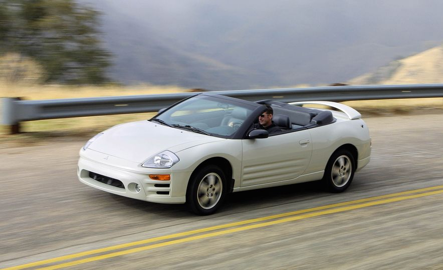 Total Eclipse of the Mitsubishi: A Turn around the History of the Ill-Starred Sports Coupe - Slide 11