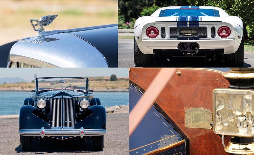 The 10 Most Expensive Cars Sold at the 2017 Monterey Auctions, Day 1 - Slide 1