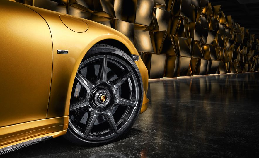 Porsche 911 Turbo S Exclusive Series Carbon Fiber Wheels - Slide 1