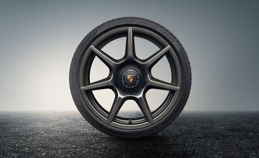 Porsche 911 Turbo S Exclusive Series Carbon Fiber Wheels - Slide 2