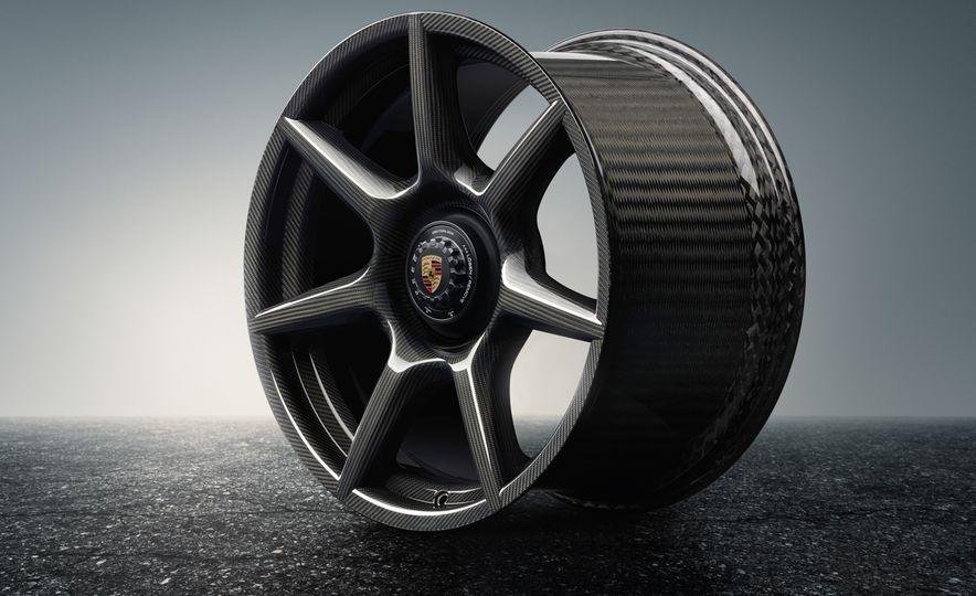 Porsche 911 Turbo S Exclusive Series Carbon Fiber Wheels - Slide 3