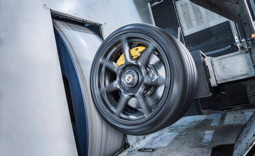 Porsche 911 Turbo S Exclusive Series Carbon Fiber Wheels - Slide 11