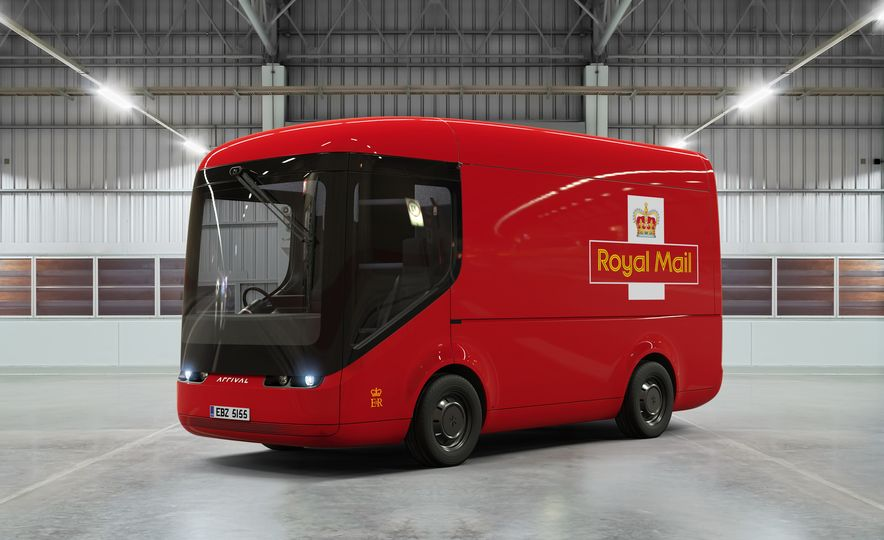Royal Mail Arrival Electric Truck - Slide 1