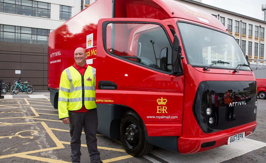 Royal Mail Arrival Electric Truck - Slide 3