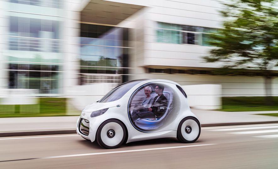 Smart Vision EQ Fortwo concept - Slide 5