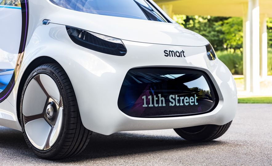 Smart Vision EQ Fortwo concept - Slide 17