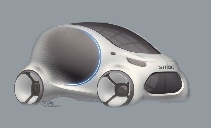 Smart Vision EQ Fortwo concept - Slide 31