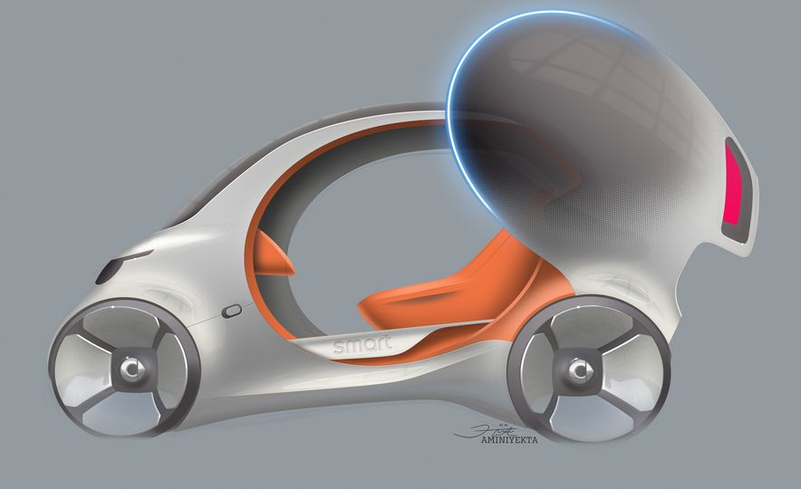 Smart Vision EQ Fortwo concept - Slide 32