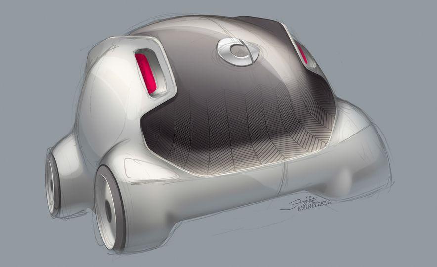 Smart Vision EQ Fortwo concept - Slide 34