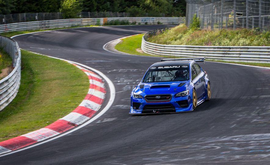 Subaru WRX STI Type RA Nurburgring Lap Record - Slide 1