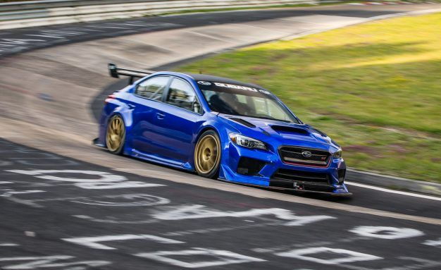 Seven Minutes in Heaven: Watch a WRX Race Car Blitz the Nurburgring in 6:57