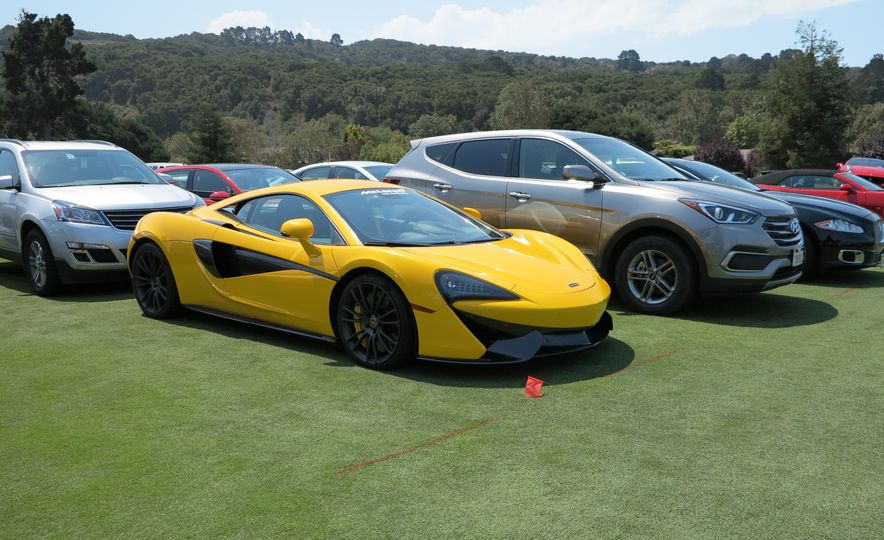 Not the Main Event: The Quail Parking Lot's Fabulous Cars - Slide 1