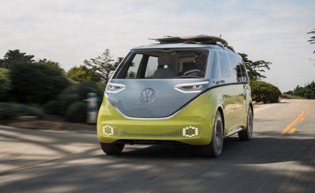 Volkswagen Id Buzz Electric Bus Confirmed For Usin 2022 News