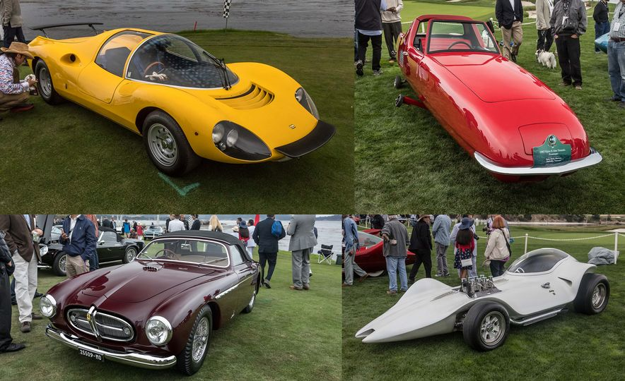 Our Favorite Cars at the 2017 Pebble Beach Concours d'Elegance - Slide 1