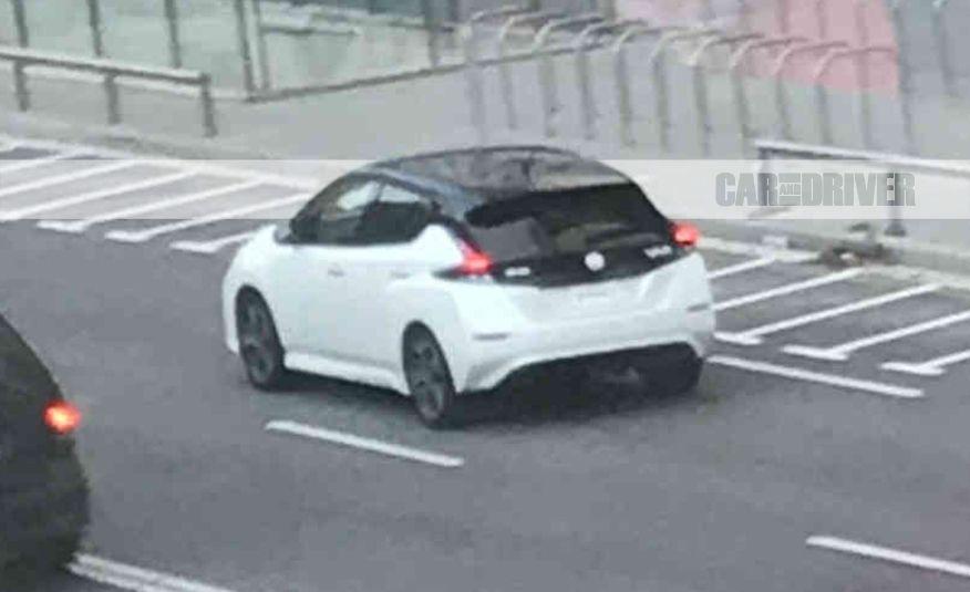 2018 Nissan Leaf (spy shot) - Slide 1