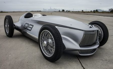 10 Things to Know about Infiniti's Amazing Prototype 9 Retro Racer