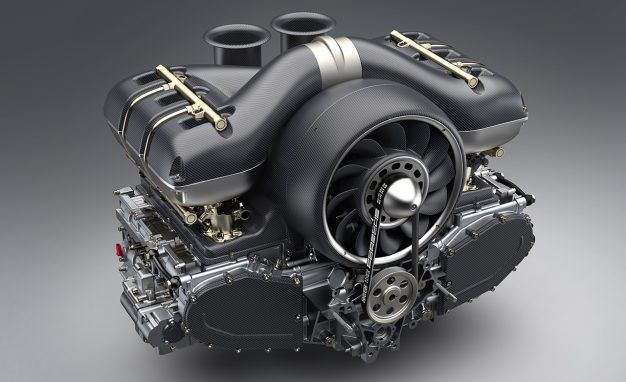 Williams Engineering Creates 500-HP Air-Cooled Porsche Flat-Six for Singer