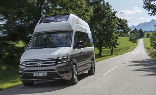 California XXL A Gigantic Camper Van Brought To You By Volkswagen