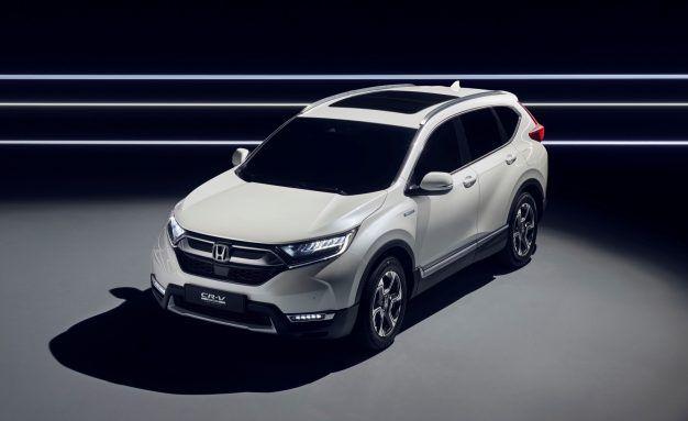 Honda CR V Hybrid Yes For Europe US Not Yet Confirmed