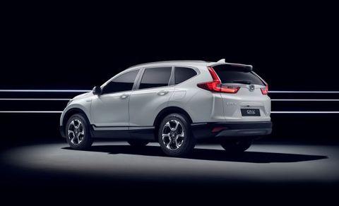 Honda Cr V Hybrid Prototype