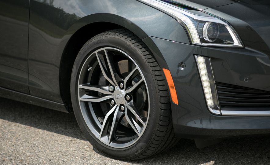 2017 Cadillac CTS RWD 3.6L - Slide 42