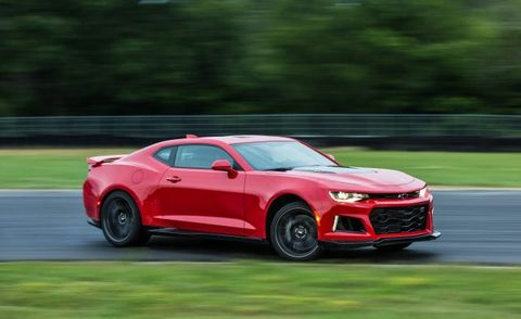 Report: Chevrolet Camaro Getting the Corvette's Seven-Speed Manual for 2019