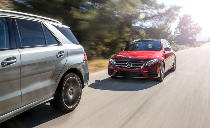2017 Mercedes-Benz E400 wagon and 2017 Mercedes-AMG GLE43 - Slide 3