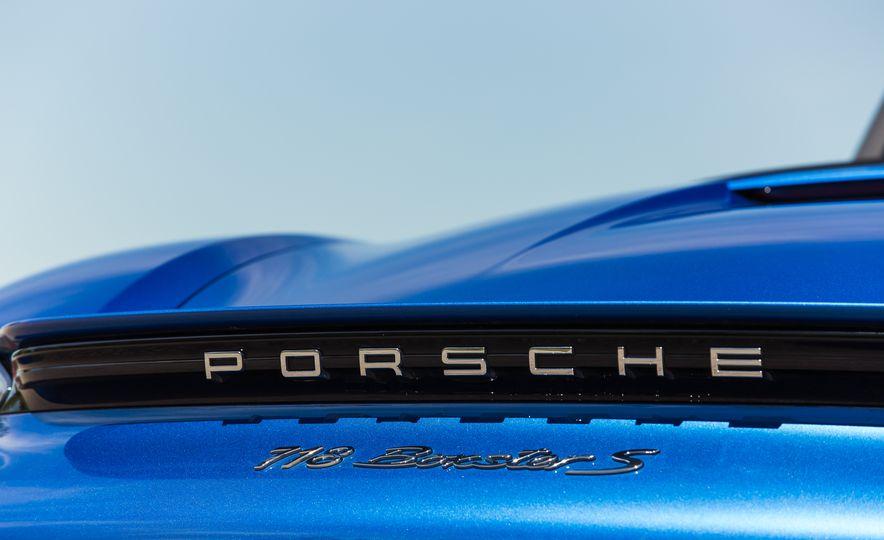 2017 Porsche 718 Boxster S - Slide 113