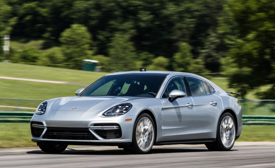 2017 Porsche Panamera Turbo - Slide 77