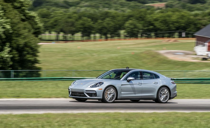 2017 Porsche Panamera Turbo - Slide 79