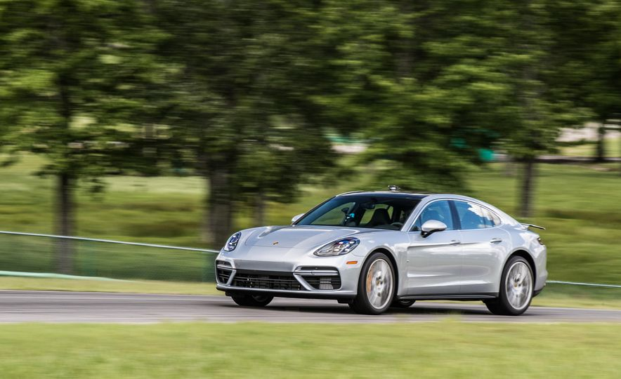 2017 Porsche Panamera Turbo - Slide 81