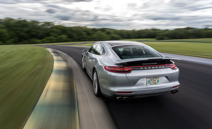 2017 Porsche Panamera Turbo - Slide 86