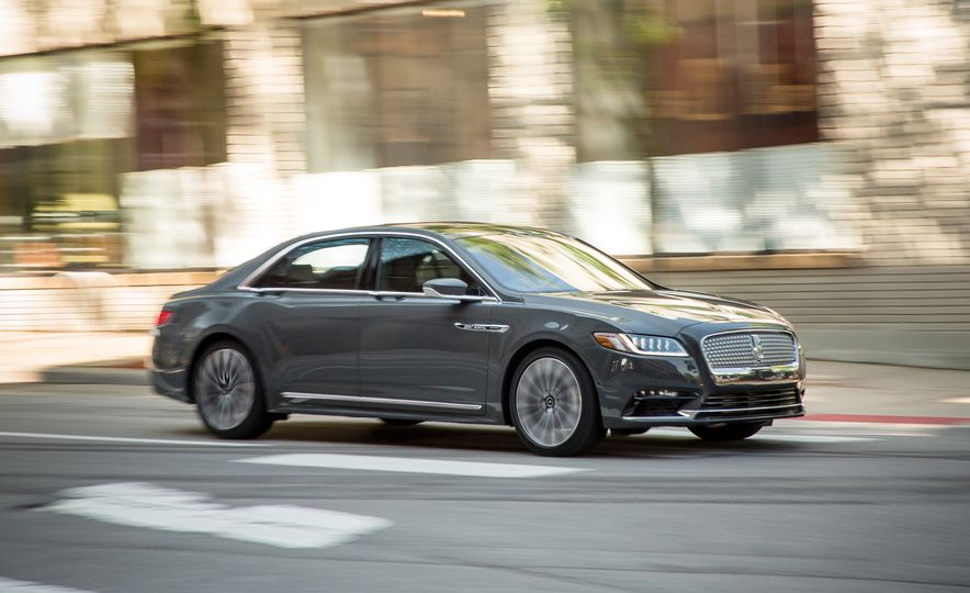 2017 Lincoln Continental 3.0T AWD Black Label - Slide 1