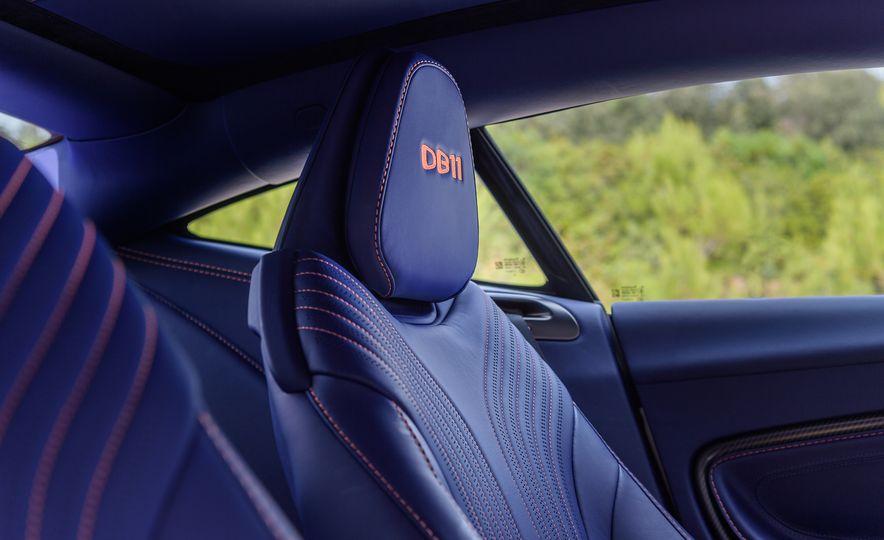 2018 Aston Martin DB11 V-8 - Slide 49