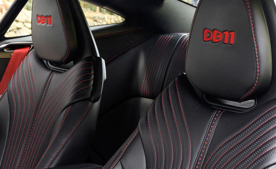 2018 Aston Martin DB11 V-8 - Slide 98