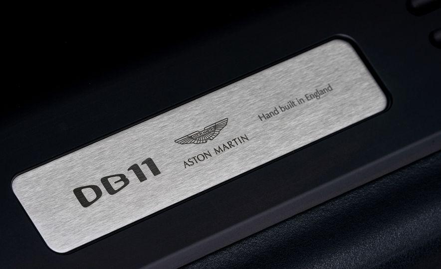 2018 Aston Martin DB11 V-8 - Slide 104
