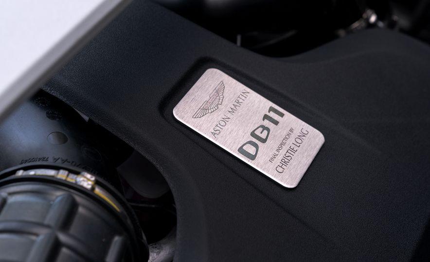 2018 Aston Martin DB11 V-8 - Slide 107